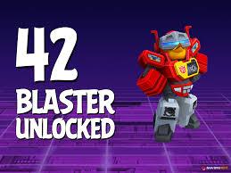 Angry Birds Transformers Blaster Unlocked