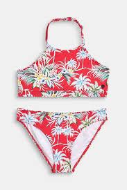 Esprit Hooggesloten Bikini Met Bloemenprint Kopen In De Online Shop