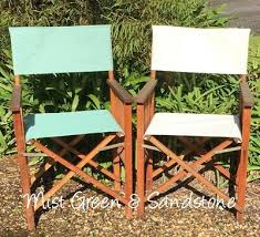 outdoor director chair replacement