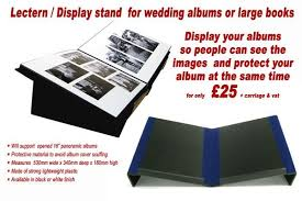 Wedding Album Display Stand Unique Lecterns Book Stands South West Colour Labs