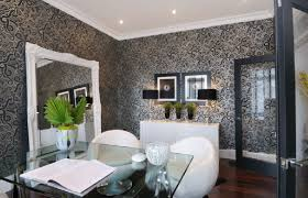 modern home office featuring glossy white. Black And White Office Modern Home Featuring Glossy
