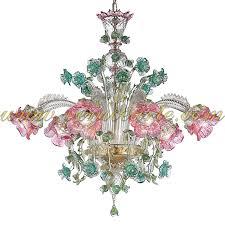 elisa murano glass chandelier