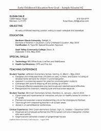 Tutor Cover Letter No Experience Elegant Resumes Preschool Teacher