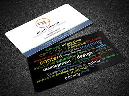 Modern Professional Business Card Design For A Company By