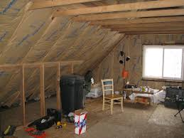 Pictures Of Finished Attics How To Insulate And Ventilate Knee Wall Attics Energy Smart Home