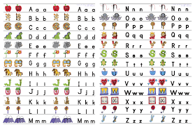 Alphabet Chart Pdf Download Sounds Like Learning Alphabet Card Download
