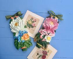 wall decor ceramic flower bouquet gallery photo