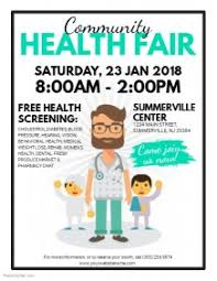 Health Fair Flyers 3 010 Customizable Design Templates For Health Fair Postermywall