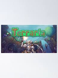Terraria Indie Game Poster