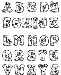 Numbers, alphabet, letters coloring pages. Free Printable Alphabet Coloring Pages Az Coloring Pages