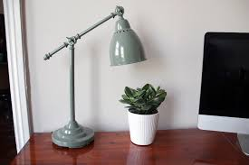 upcycle ikea barometer desk lamp
