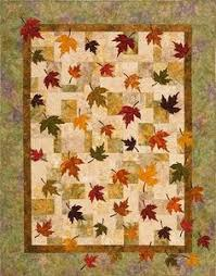 Nancy of UniquelyNancy says: Maple Leaf Forever. A timeless design ... & Plum Tree Quilt Patterns - Falling Leaves Quilt Pattern Adamdwight.com