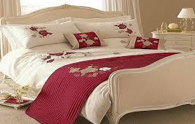 bed comforter sets for your sleep quality modern red white roses bedding comforters sets