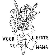 Fabulous Kleurplaat Verjaardag Moeder Sn28 Belbininfo