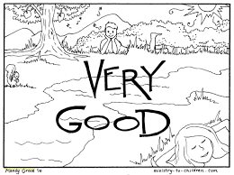 Creation Coloring Pages With 7 Days Creation Coloring Pages