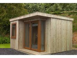 Garden shed office Outdoor Contemporary Garden Offices Skinners Sheds Garden Offices Garden Buildings From Skinners Sheds