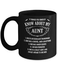5 Things You Should Know About My Aunt Niece Mug