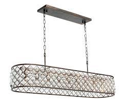 rectangular crystal chandelier rectangular crystal chandelier oil rubbed bronze modern raindrop crystal rectangular chandelier lighting rectangular