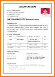 Model Of Resume For Job 24 Model Resume For Job Edu Techation 3