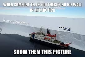 flat earth ice wall antarctica jpg