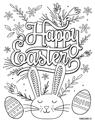 Our free printable easter coloring pages are great activities for keeping little ones busy as easter dinner cooks or for making a treasure to give family and friends. 5 Free Printable Easter Coloring Pages For Adults That Will Relieve Holiday Stress