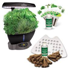 Hydroponics Herb Garden Kitchen Hydroponic Systems Pots Planters Garden Center Outdoors