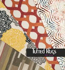 modern and contemporary tufted rug designs on