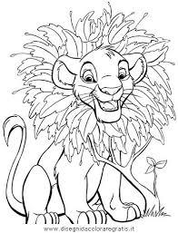 Disegno Releone041 Personaggio Cartone Animato Da Colorare