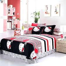 Twin Hello Kitty Bedding Set Hello Kitty Bedroom Set Fancy Queen Size Hello  Kitty Comforter Set .