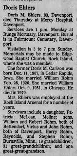 Doris Carlson death - Newspapers.com