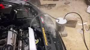 diy boost and vacuum leak smoke test
