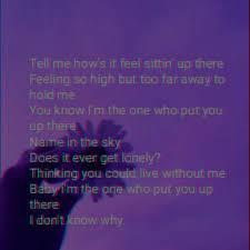 Song lyrics wallpaper, Halsey lyrics ...