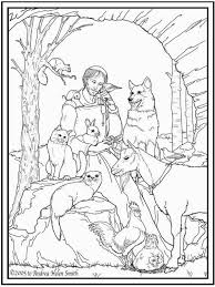 St Francis Of Assisi Coloring Pages Printable Coloring Pages