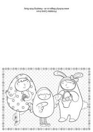 Creative & easy diy easter crafts for your kids to make with you. Easter Colouring Cards
