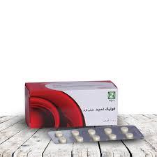 شرکت داروسازی دینه ایران قرص فولیک اسید1 میلی گرم