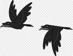family twitter bird logo flying crow