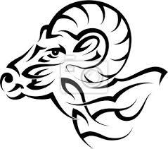 Obraz Tetování Ram Horská Koza