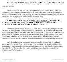 Cease And Decease Letter Template Cease And Desist Letter Template