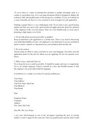 Cover Letter Examples Nursing Student