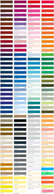 American Apparel Color Chart 2019