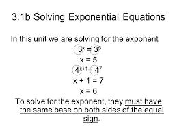 2 3 1b solving exponential equations