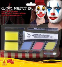 clown jester makeup kit for fancy dress party