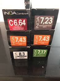 Inoa Hair Color Chart Lajoshrich Com