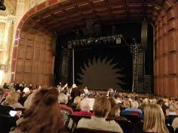 Benedum Center Section Orchestra Rc Row P Seat 32 Love