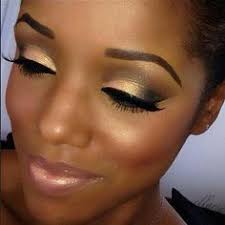 gorgeous eye make up i m dying for that peachy gold color