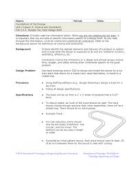 Engineering Design Brief Sample Toy Train Design Brief