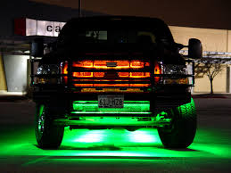Led Lights For Under Truck Ultimate Led Truck Grille Kit Led Truck Lighting Truck