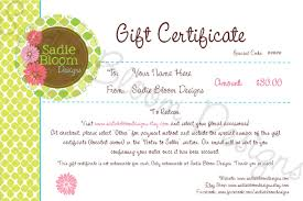 sewing gift certificate template sewing gift certificate template dimension n tk