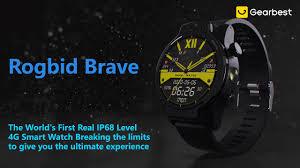 <b>Rogbid Brave 4G 5ATM</b> Diving Smart Watch - Gearbest.com ...