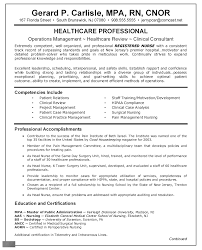 Sample Nursing Resume Resume Nurse Sample Comprehensive Resume For Nurses 14